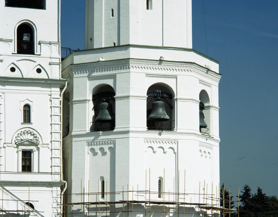 Bells of the first tier of the Ivan the Great Bell Tower