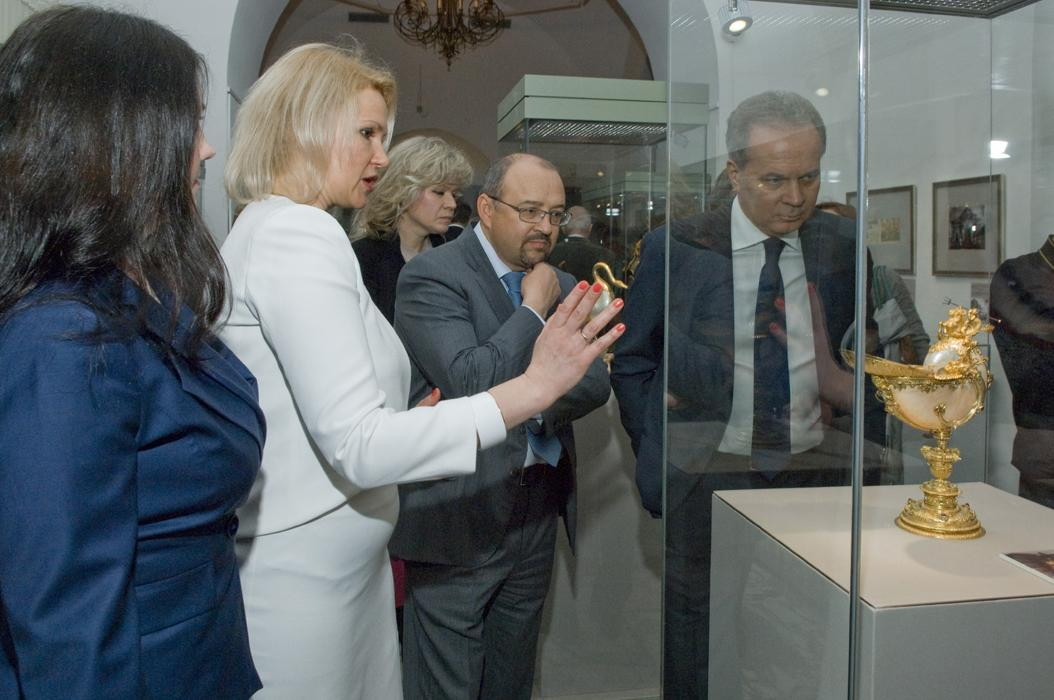 The Art of Conserving Art. Restoration at the Moscow Kremlin Museums exposition